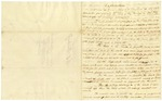 """1823 October 16: William E. Woodruff to T. W. Newton, """"Explanation"""" of bill to provide for State printing"""