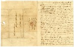 1823 April 17: P. Brearley, Cherokee Indian Agent, to Governor James Miller, Concerning the punishment of James H. Lucas for illegally taking a horse from Tom Graves, a Cherokee Indian