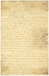 1824 August 6: E. W. DuVal, Cherokee Agent, to Acting Governor Robert Crittenden, Report of Cherokee Indians