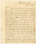 1824 April 28: John C. Calhoun to Robert Crittenden