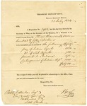 1824 July 22: William Lee, Treasury Department, to Acting Governor Robert Crittenden, Payment to Indian agents
