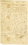 1825 August 31: Silas T. Toncray, Little Rock, to Governor George Izard, Offer to lease a salt spring