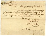 1825 June 18: T. Farrelly, Post of Arkansas, to Governor George Izard, Resignation as Sheriff of Arkansas County and as Adjutant General