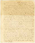 1825 March 30: Sam C. Roane, United States District Attorney, to Major Alexander Cummings, Opinion concerning treatment of Federal prisoners