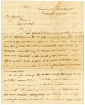 1825 July 22: G. Bomford, Ordinance Department, to J. Barbour, Secretary of War, List of arms for Arkansas militia