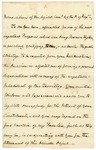 1825 October 4: Governor George Izard, Message to the General Assembly about removal of Quapaws