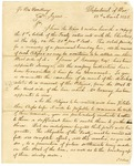 1825 March 18: James Barbour, Department of War, to Governor Izard, Directions for running Quapaw boundary line