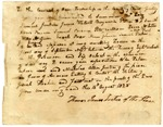 1825 August 16: Thomas James, Justice of the Peace, Oden Township, Chicot County, Arkansas, to Ben Patton, Constable, Summons to citizens of county concerning disputed election