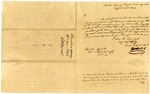 1826 April 26: E. W. DuVal, Cherokee Indian Agent, Crawford County, Governor George Izard, Concerning vouchers for accounts