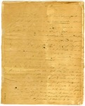 """1826 January 1: Antoine Barraque to Governor George Izard, Manuscript, """"Voyage of the Quapaws"""" [in French]"""