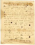 1826 January 20: Chester Ashley and A. H. Sevier to Governor Izard, Reporting misconduct of John Williams, Justice of the Peace, Warm Spring Township, Clark County