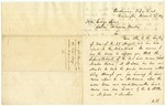 1827 December 22: G. Bomford, Ordinance Department, to Governor George Izard, Leasing of lead mines in Arkansas