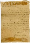 1827 August 21: George W. Scott, Little Rock, to Governor George Izard, Request for renewal of commission as Territorial Auditor