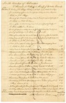 1828 October: The Territory of Arkansas to Samuel W. Rutherford, Sheriff of Pulaski County, Statement of expenses