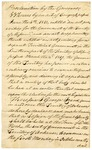 1828 June 20: Governor George Izard, Proclamation calling for a special session and special election of members of Territorial Legislature