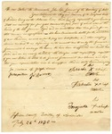 1830 July 26: Headmen of the Quapaw Tribe to Governor John Pope, Petition for payment of annuity