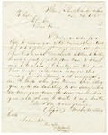 1830 June 23: Walter Webber, Illinois Shoals, Cherokee Nation, to Colonel Arbuckle, Report of killing of a Cherokee by white settlers