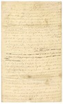 1830 April 4: John Adams, Matthew Adams, and Jacob Wolf, Izard County, to Governor John Pope, Complaint of interference with peace of their homes