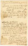 1830 September 6: C.F.M. Noland, Deputy Clerk, Circuit Court, Independence County, to John Redmon, Tax receipt