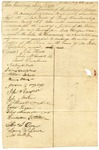 1830 July 5: Citizens of Lawrence County to Governor John Pope, Petition for appointment of John B. Hammond as Justice of the Peace