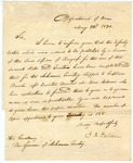 1830 May 22: J. H. Eaton, Department of War, to Governor Pope, Concerning military regulations for the several states and Arkansas Territory