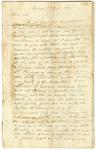 1831 December 1: William B. R. Horner, Helena, to Governor John Pope, Deposition of the case of Mr. Gideon Dunn
