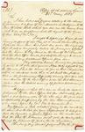 1832 May 25: H.L. Legard, Office of attorney General, to Walter Forward, Secretary of Treasury, Arkansas Land Claims