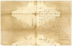 1833 December 21: Elbert Herring, Department of War, to Governor John Pope, Acknowledgment of receipt of report of Quapaw Subagency