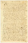 1833 June 19: Richard M. Hannum, Quapaw Indian Agent, to Governor William S. Fulton, Explanation of purchases made for Indians