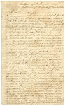 1833 March 13: Governor John Pope to the General Assembly, Message on the sale of public land