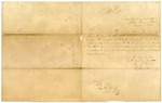 1833 March 18: Elbert Herring, Department of War, to Governor John Pope, Concerning payment to a Quapaw Indian interpreter