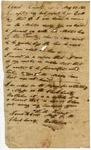 1833 May 29: James H. Crow, Major, Clark County Militia, to William S. Fulton, Report of Militia