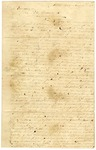 1833 November 12: Chester Ashley, Little Rock, Arkansas, to Governor John Pope, Report of lands granted by United States Government for public buildings in Little Rock