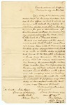 1833 March 1: Major General Thomas Jessup, Quartermaster General's Office, Washington, to Governor John Pope, Concerning construction of military roads