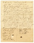 1834 March 22: Citizens of Carroll County to Governor John Pope, Petition for appointment of William J. Estes as Justice of the Peace