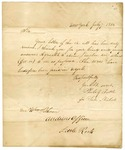 1834 July 7: Phebe Nichols, (by Phebe G. Tuttle), New York, to William Pelham, Taxes on lands entered