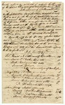 1835 June 19: Bryan H. Smithson, Onesimus Evans, and John West, Washington County, to Governor William S. Fulton, Election returns