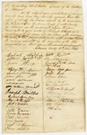 1835 June 19: Citizens of Arkansas County to Governor William S. Fulton, Petition to appoint Henry J. McKenzie as sheriff