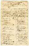1835 June 20: Citizens of Arkansas County to Governor William S. Fulton, Petition to appoint Henry J. McKenzie as sheriff