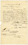 1835 April 29: George M. Aldridge, Van Buren, to Governor William S. Fulton, Resignation of R.C.S. Brown as Sheriff of Crawford County
