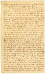 1835 October 23: Arkansas General Assembly to Congress, Request for construction of road from Fort Towson on Red River to Pine Bluff