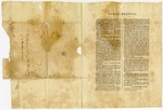 1835 August 21: Printed minutes of abolitionist meeting, Augusta, Maine