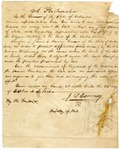 1836 October 22: Governor James S. Conway, Proclamation ordering Indians to depart beyond the limits of the state