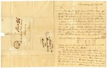1836 August 16: Henry Eddy, Shawneetown, Illinois, to the Auditor, Military bounty Land Claims of Samuel E. Brown of Illinois, deceased