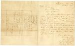 1836 November 18: M.W. Bateman, Short Mountain, Arkansas, to Governor James S. Conway, Concerning Creek Indian affairs