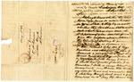 1836 September 15: Francis A. Dickens, Washington City, to the Auditor of Arkansas, Military bounty Land Claims