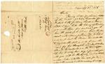 1836 September 23: Alfred Heimer, Saint Louis, to the Auditor of Arkansas, Military bounty Land Claims of John Vinsaker, deceased