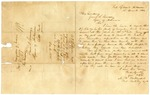 1836 December 14: M.W. Bateman, Fort Gibson, Arkansas, to Governor James S. Conway, Report of progress of Creek Indian removal