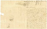 1836 September 5: William H. Gaskins, Wiccomoco Church, Virginia, to Elias N. Conway, Auditor, Lands subject to redemption