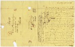 1836 September 23: Joseph Clark, Jersey City, to Elias N. Conway, Auditor, To redeem land subject to sale for taxation